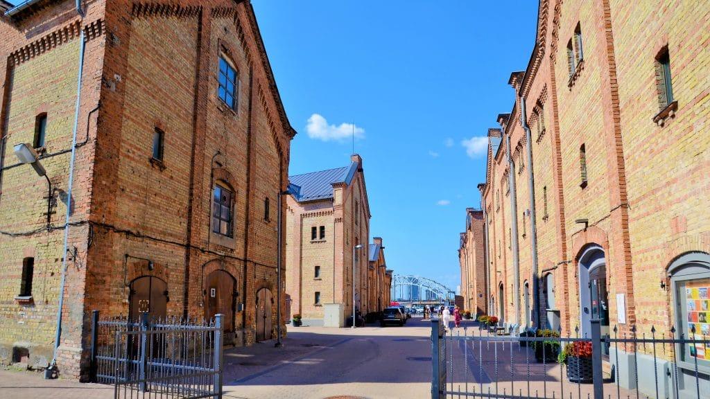 Speicherstadt Riga