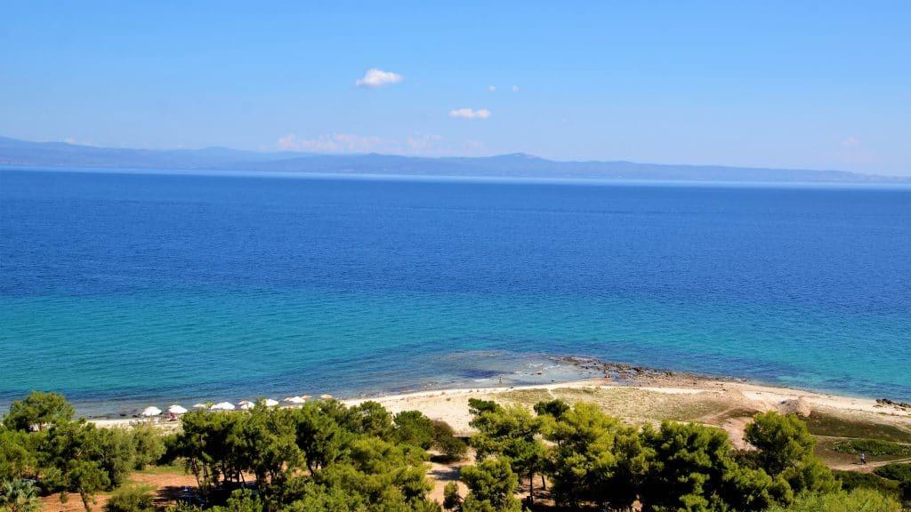 Strand von Afytos