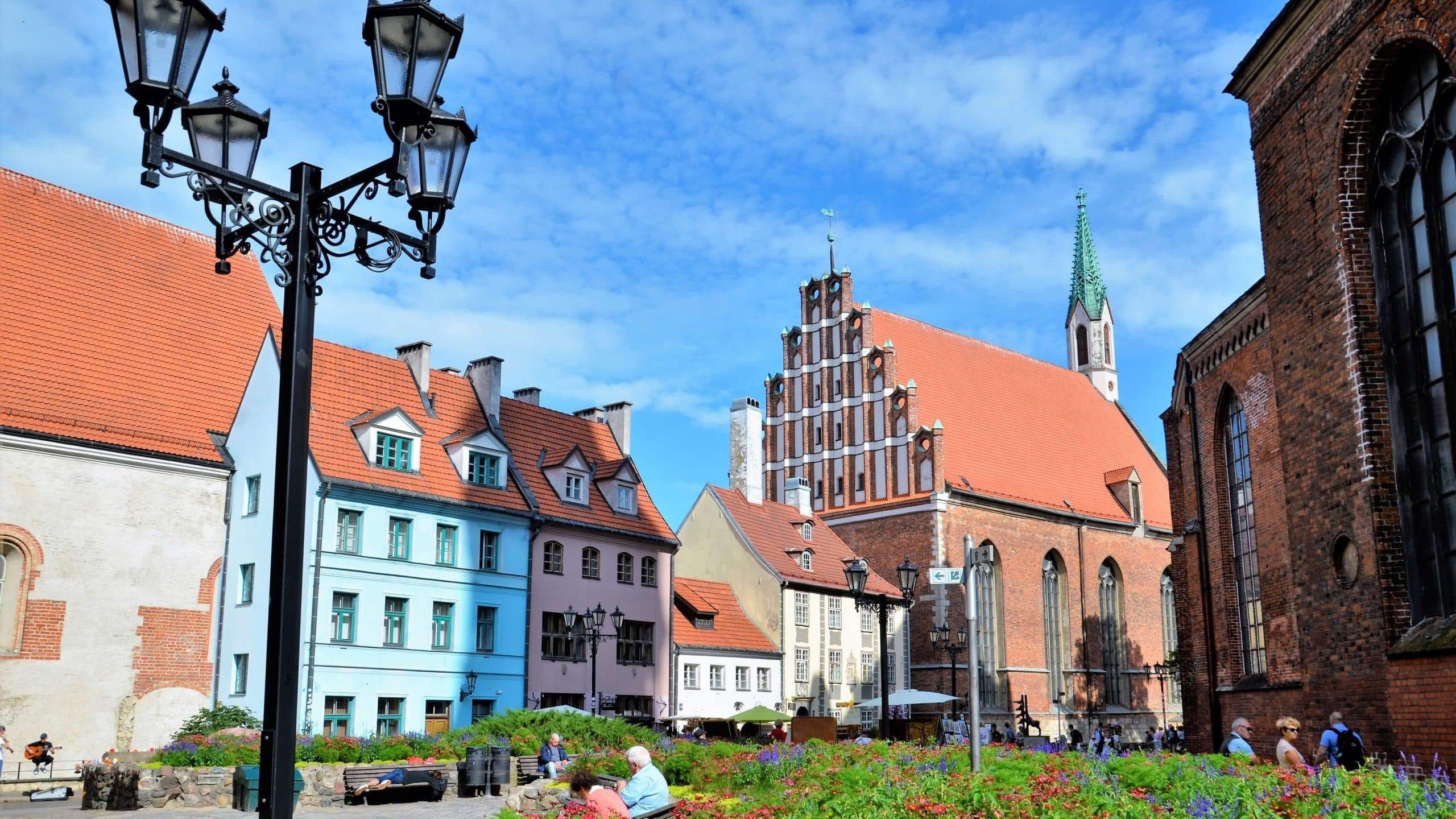 Platz hinter der Petrikirche