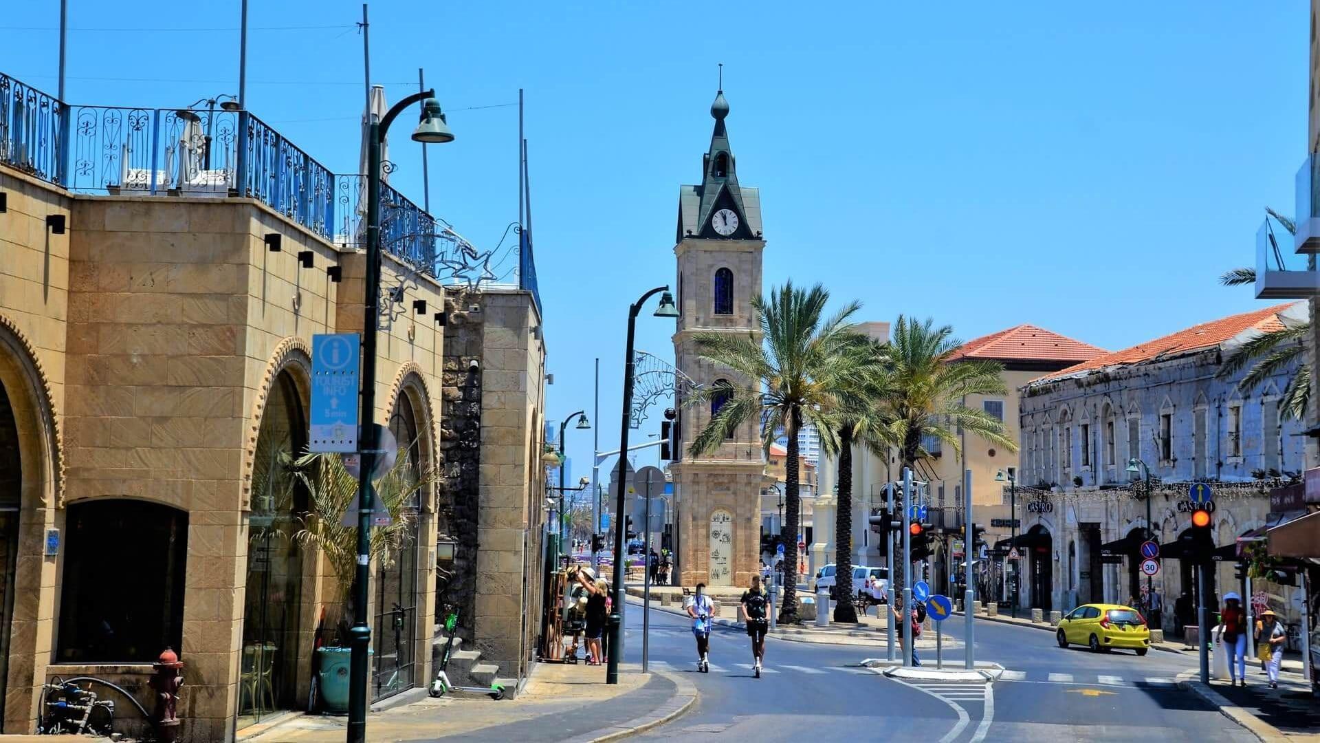 Glockenturm von Jaffa