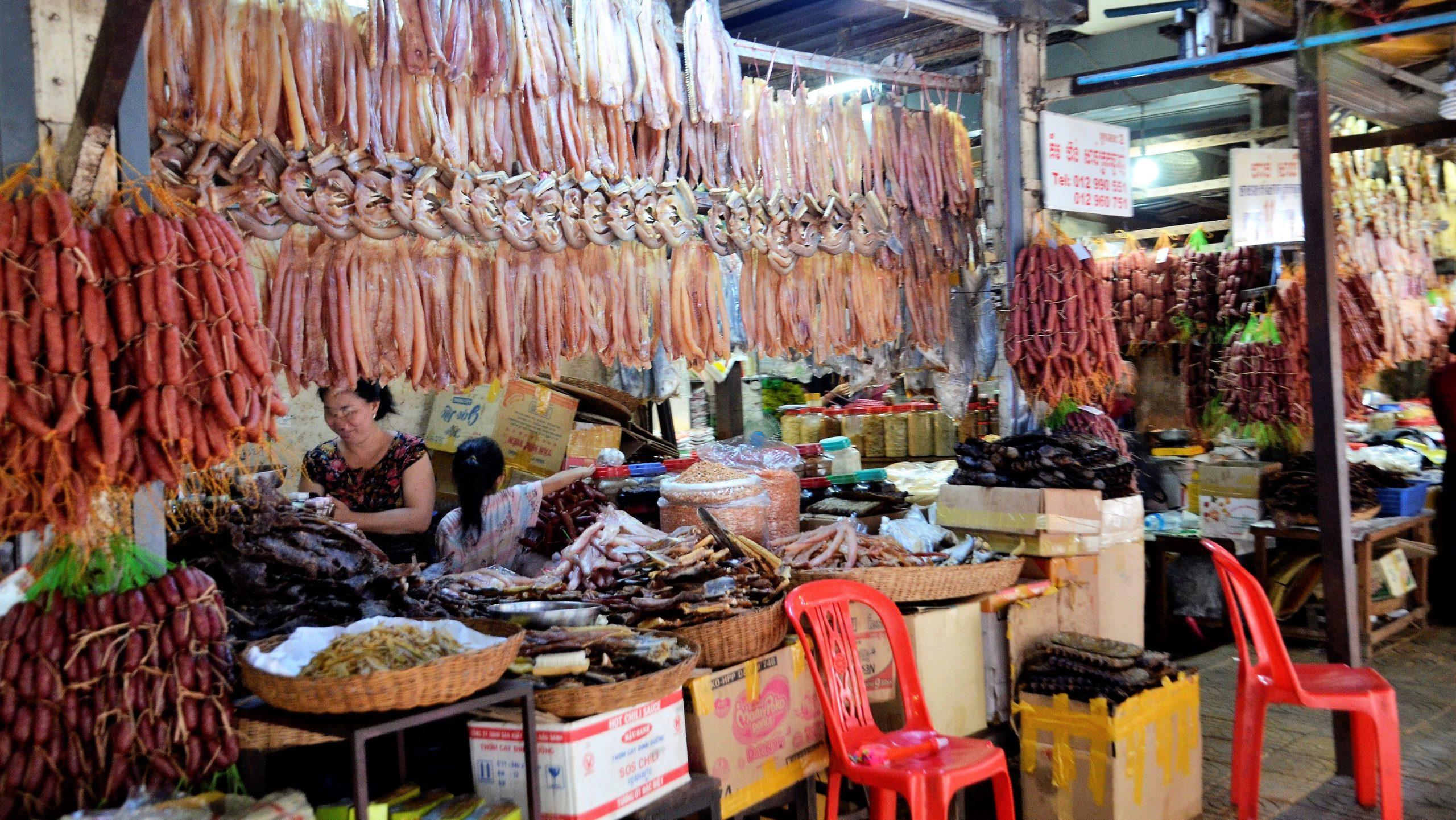 Alter Markt in Siem Reap