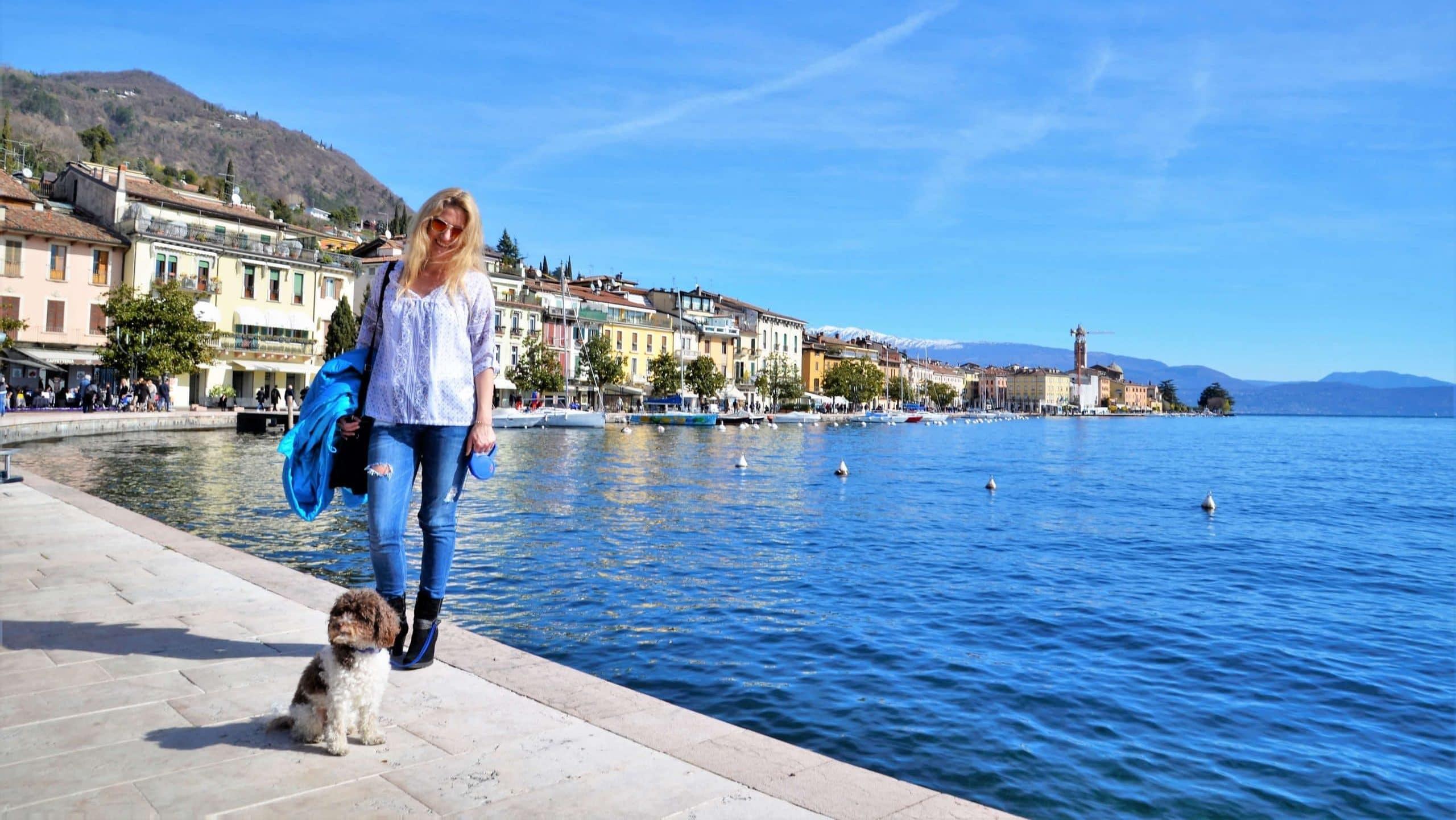 Uferpromenade von Salo Sehenswürdigkeiten am Gardasee