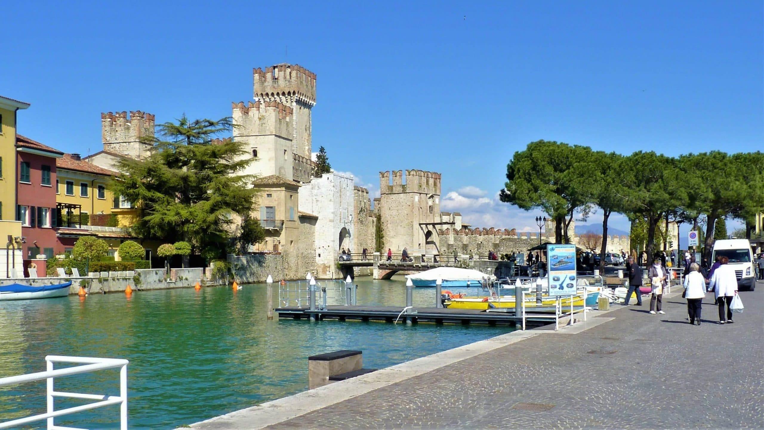 Scaligerburg in Sirmione, einer der schönsten Orte am Gardasee