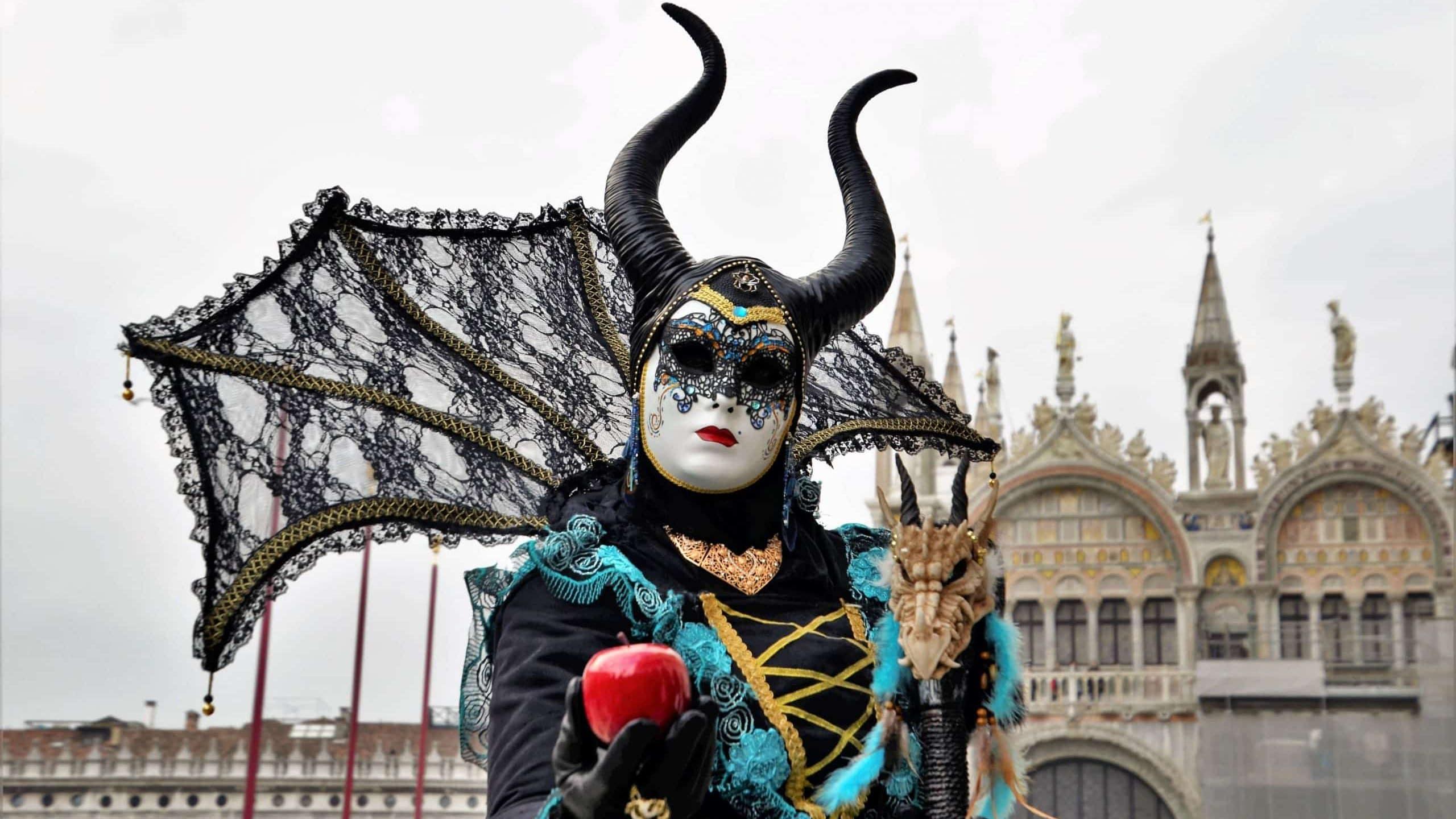 Masken Karneval Venedig