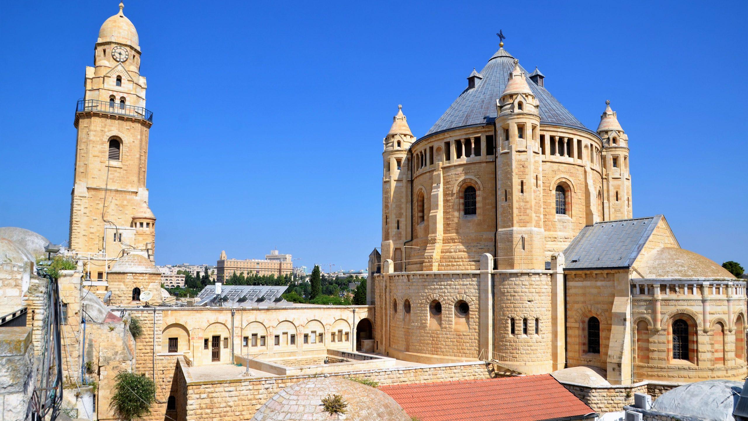 Kirche auf dem Zion in Jerusalem, Sehenswürdigkeiten Jerusalem