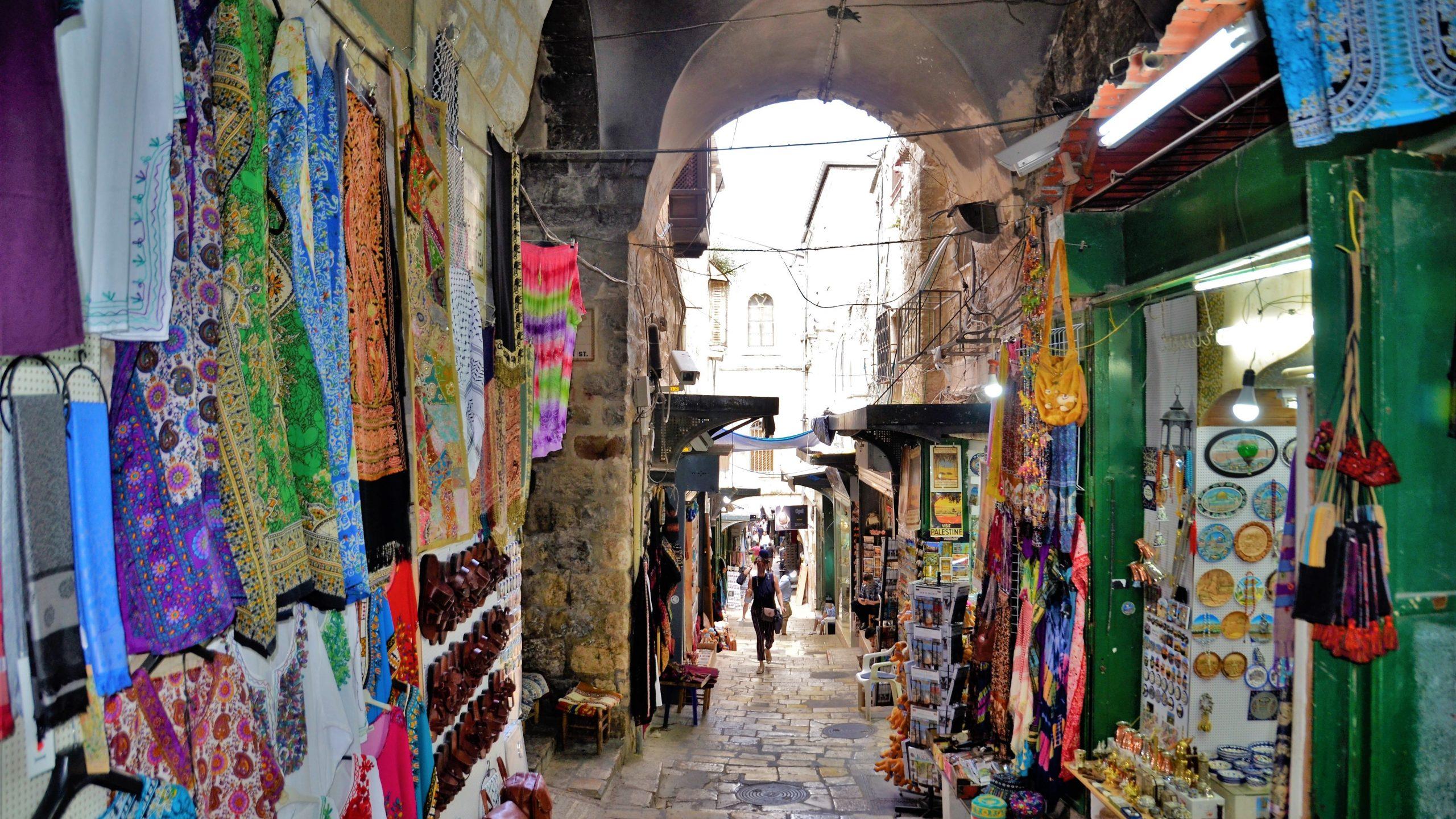 In den Gassen von Jerusalem