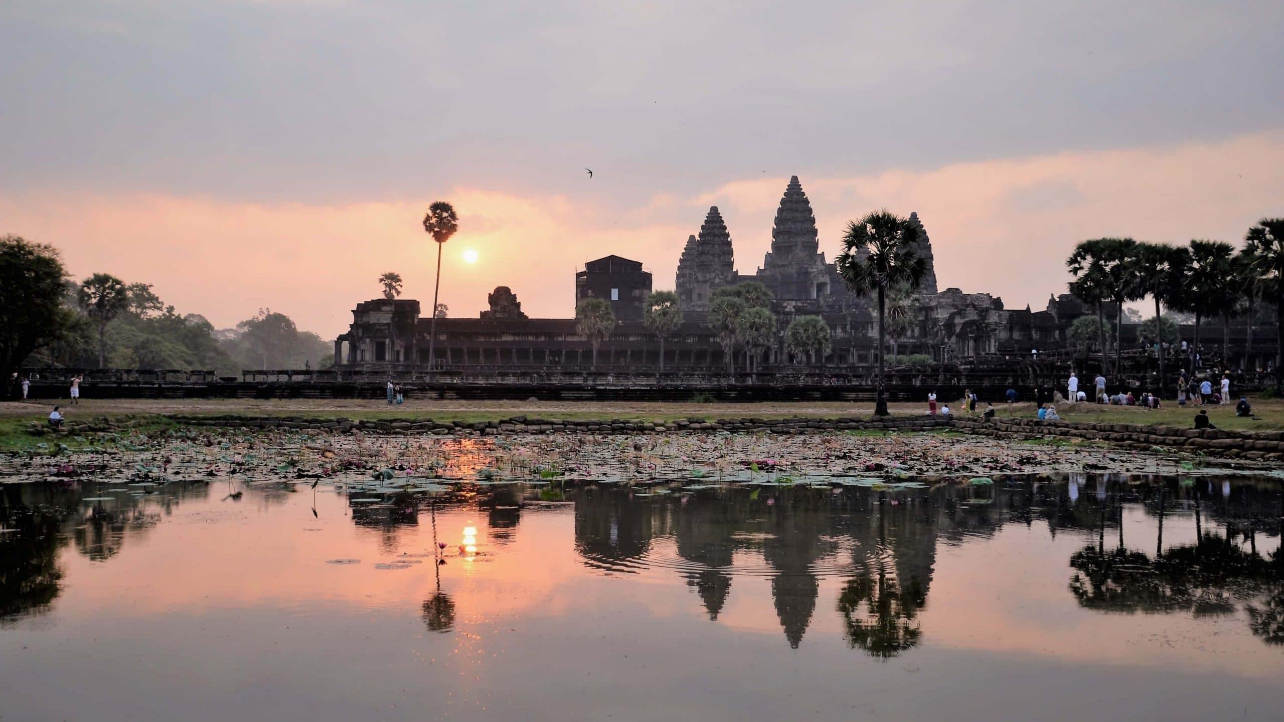 Sehenswürdigkeiten Kambodscha  Angkor Wat Tempel