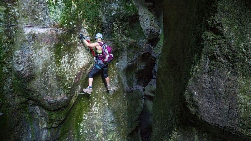 Klettersteig am Gardasee