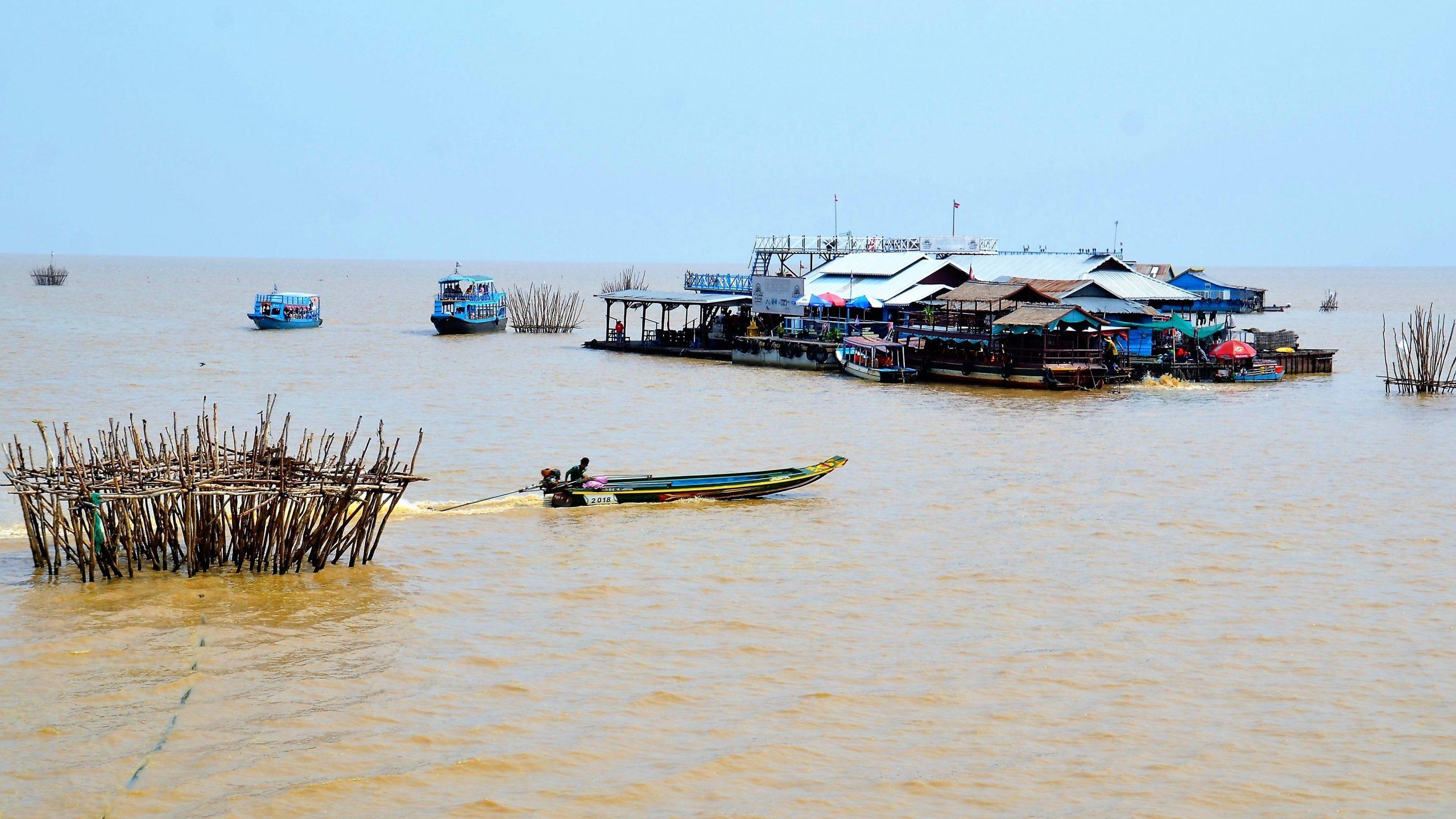 Auf dem Tonle Sap See